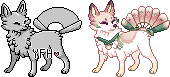 your foxfan here sprite! by becquereI