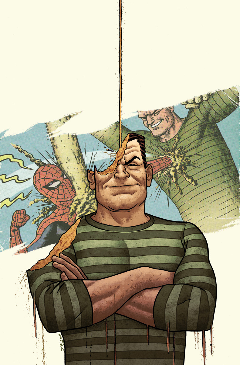 A. Spider-man Sandman Cover by quin-ones on DeviantArt