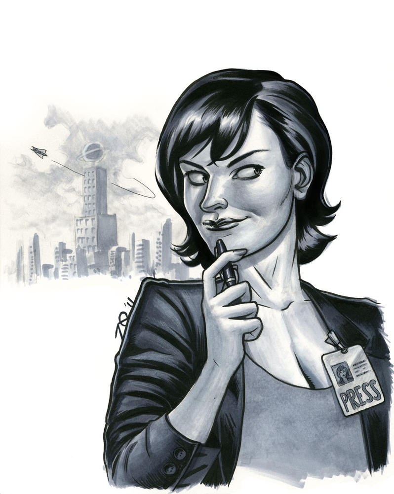 Lois Lane, Star Reporter by quin-ones