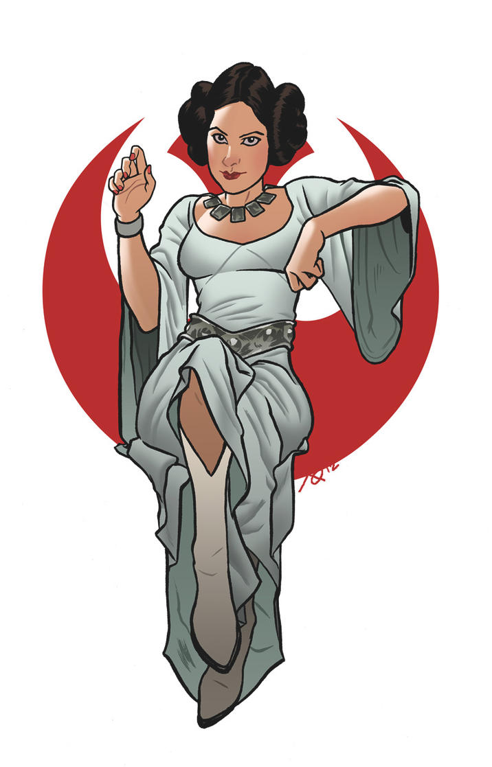 Princess Leia Organa by quin-ones