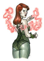 Poison Ivy by quin-ones