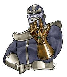 Thanos: The Hand of Fate by quin-ones