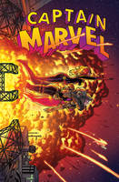 Captain Marvel, No. 16 - COLOR by quin-ones