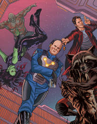 The Guardians of the Galaxy (and Kevin Feige)