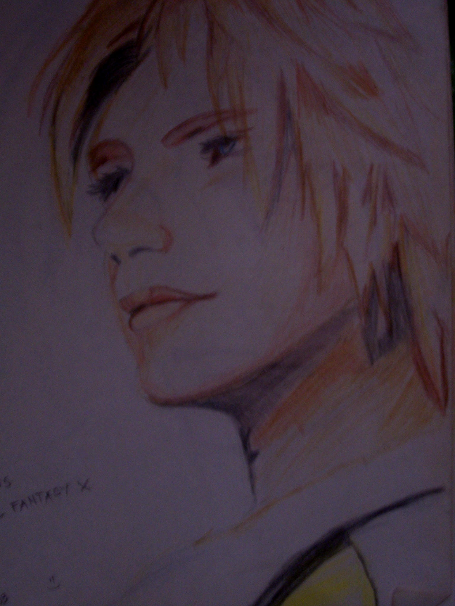Tidus closeup by sorceressran