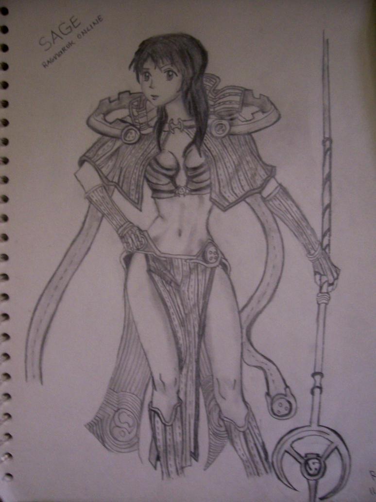 Ragnarok Sage by sorceressran