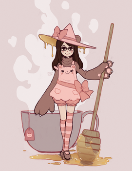 sleepypandie witchsona