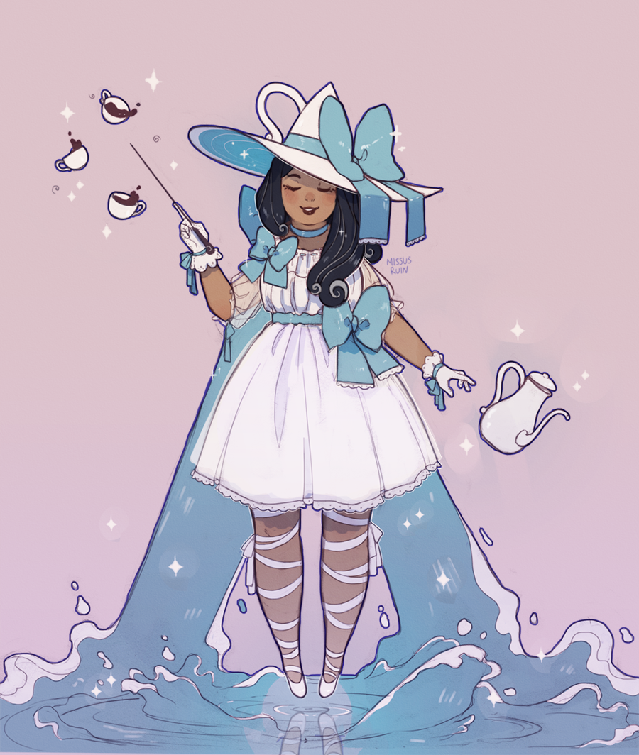 pigsocks witchsona by missusruin
