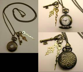 Mini Filigree Pocketwatch NK by pervyyaoifancier