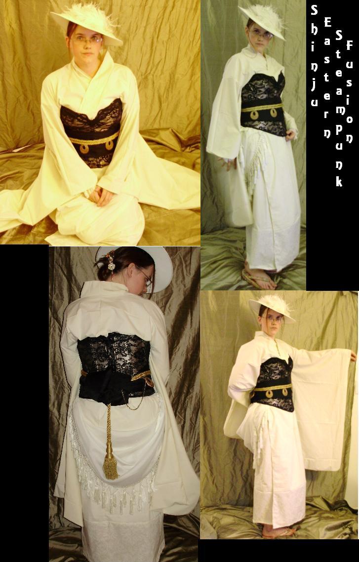 Shinju Eastern Steampunk Fuse by pervyyaoifancier