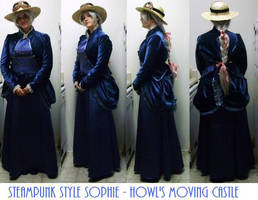 Steampunk Sophie Pendragon HMC by pervyyaoifancier