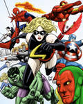 Marvel people