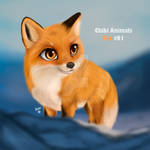Chibi Fox - Celtic Zodiac by Arsbin