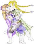 Zelda  Link as Elseria  Koinzell watermarked
