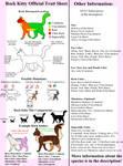 Rock Kitty Trait Sheet by Forteycat