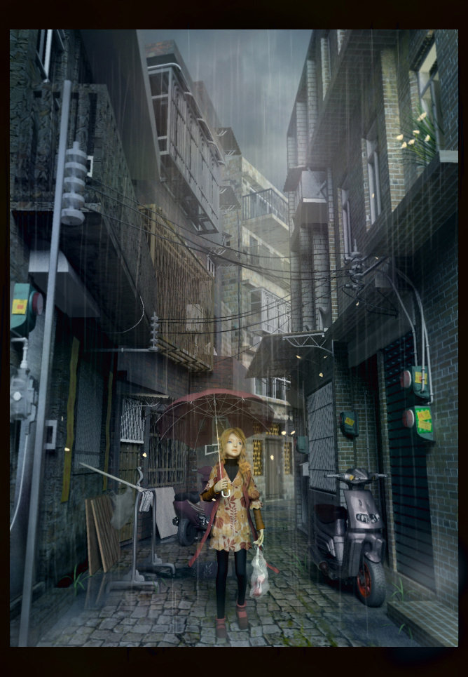 Petals in the rain by nanami-yuki