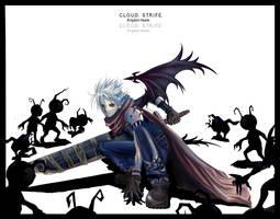 Cloud Strife- Kingdom Hearts by nanami-yuki