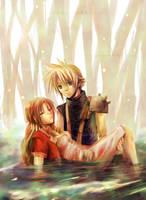 Final Fantasy VII by nanami-yuki