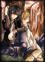 Akira and Hikaru from Hikago by nanami-yuki