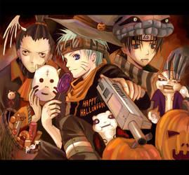 Naruto- Halloween by nanami-yuki