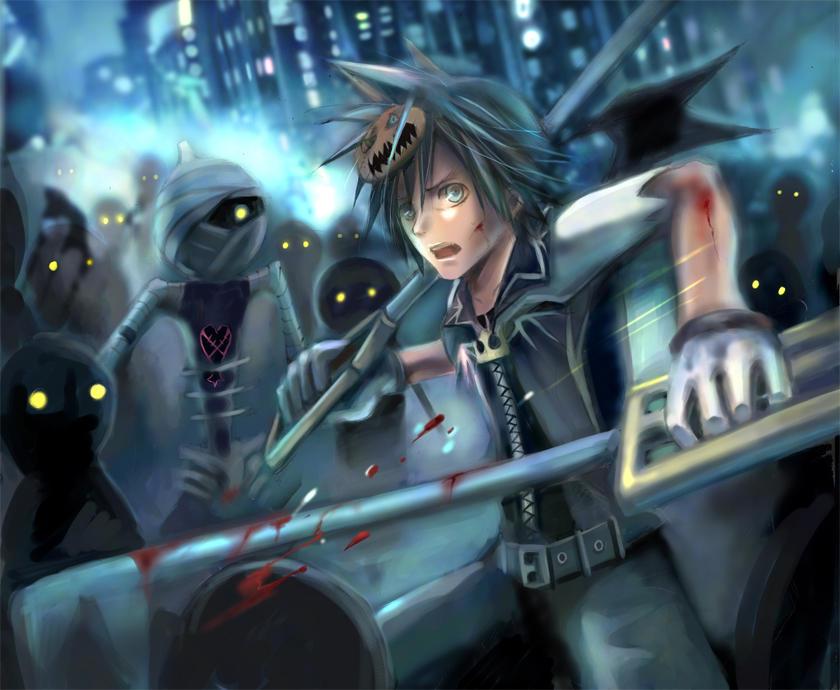 Kingdom Hearts- Panic- by nanami-yuki