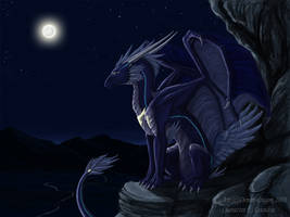 The Dragoness of Light by rag-chimera