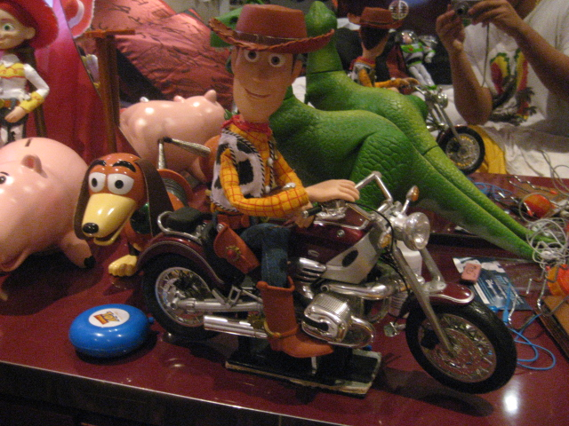 Woody's on motorcycles