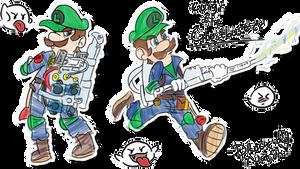 Luigi the Ghostbuster