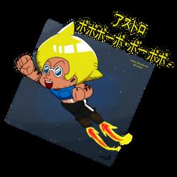 Astro Bobobo-bo Bo-bobo by drockNation