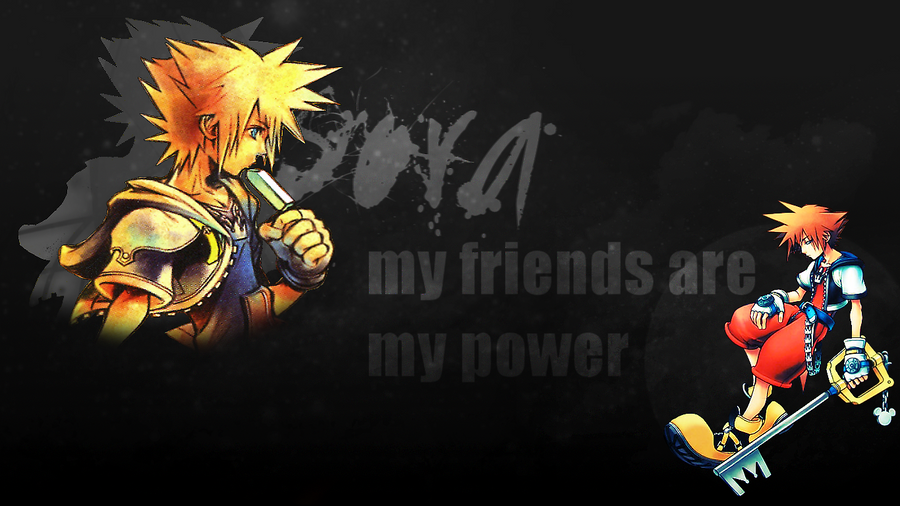 [Bild: my_friends_are_my_power___wallpaper__by_...4r17i9.png]