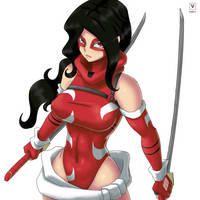 Commission-Scarlet Lotus