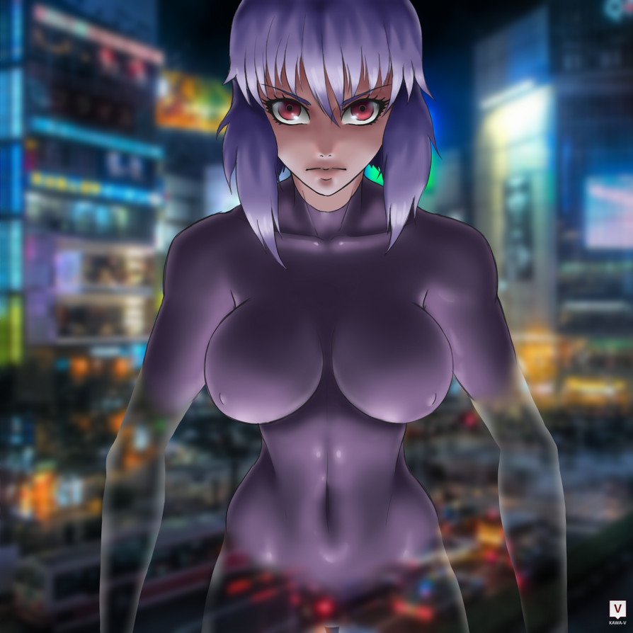 GITS: Kusanagi Motoko by Kawa-V