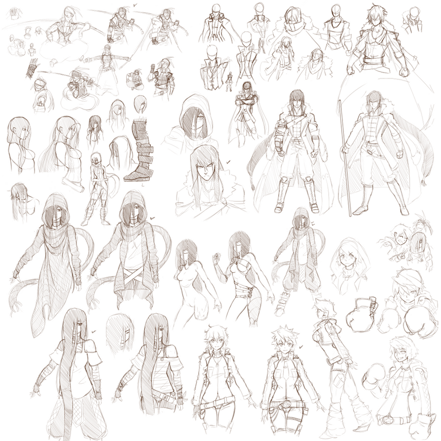 Sketch design- 2nd Group by Kawa-V