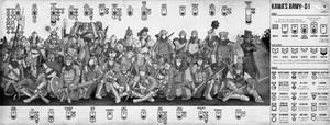 Kawa's Army 01 by Kawa-V