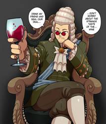 Commission: Weird wine by Kawa-V