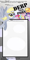 DERP My Pony meme
