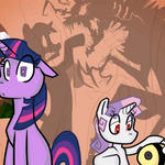 Twilight sparkle and Thrackerzod lol by PKelton