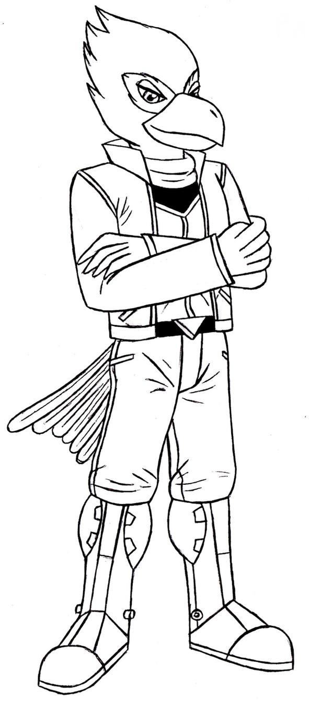 Falco Lombardi SF64 Sketch by ACdraw