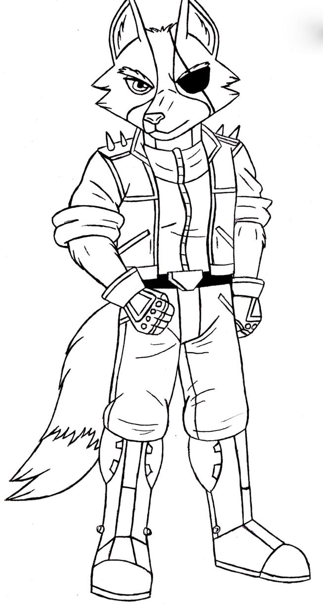 Wolf O' Donnell SF64 Sketch by ACdraw