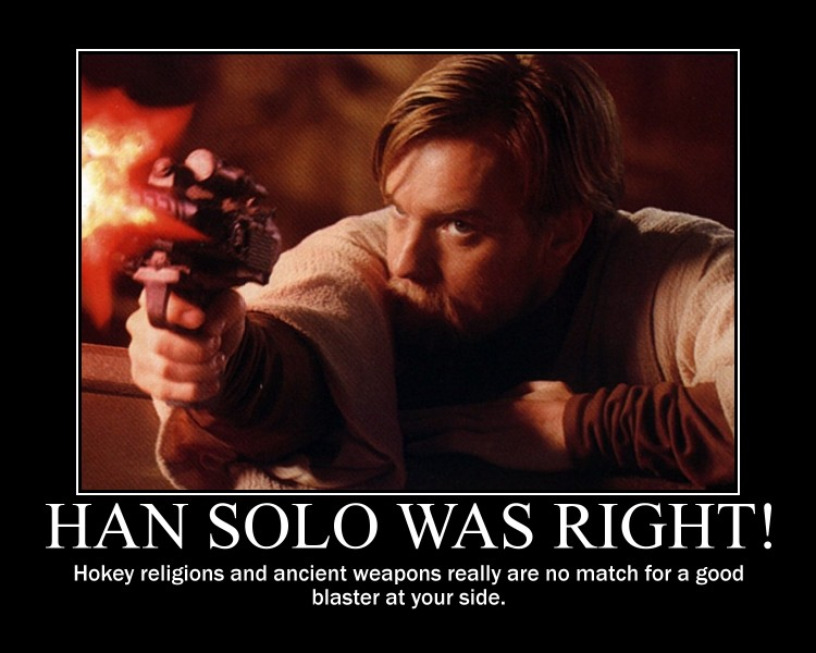 Han Solo Was Right by ACdraw