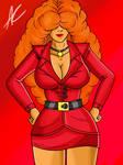 Ms. Sara Bellum: The Mayor's Aide (Fan-Art)