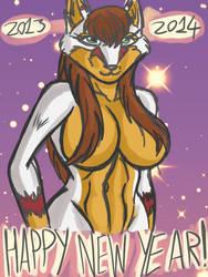 Happy New Year 2013/14 Alt by ACdraw