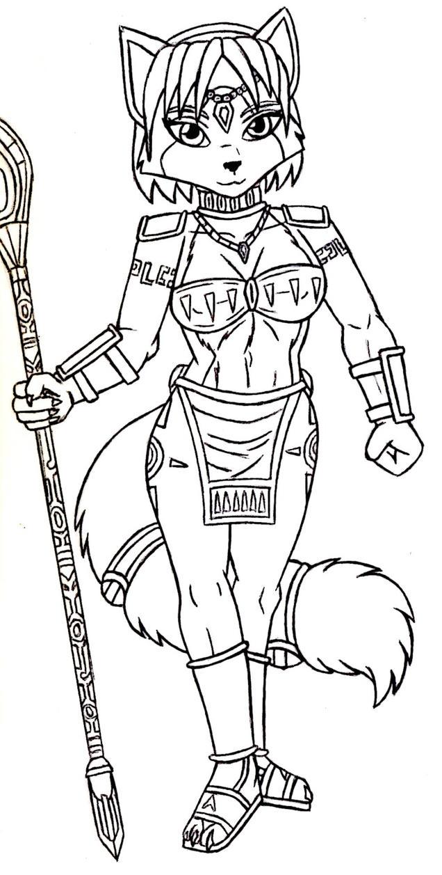 Krystal SFA Sketch by ACdraw