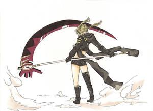Maka's Death Scythe: Colour