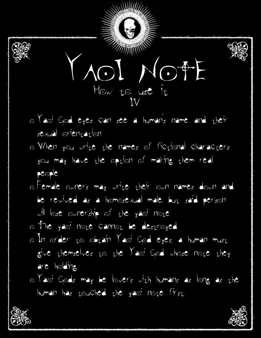 DN - Yaoi Note Page 4 by Taymeho