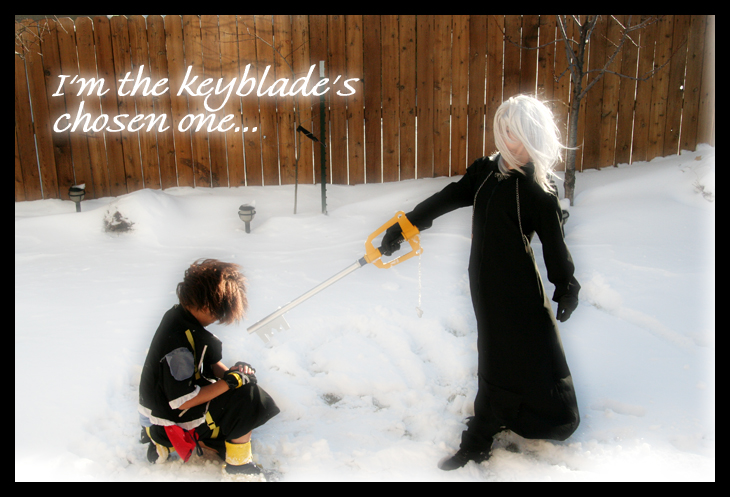 Cosplay-Keyblade's Chosen One by Taymeho