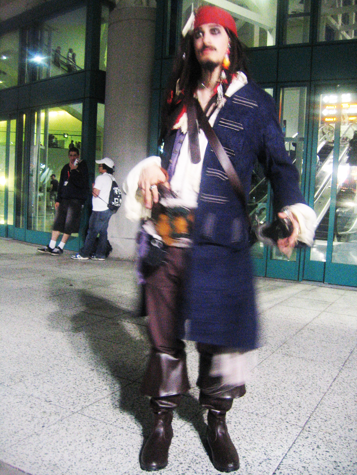 AX09: Jack Sparrow by Taymeho