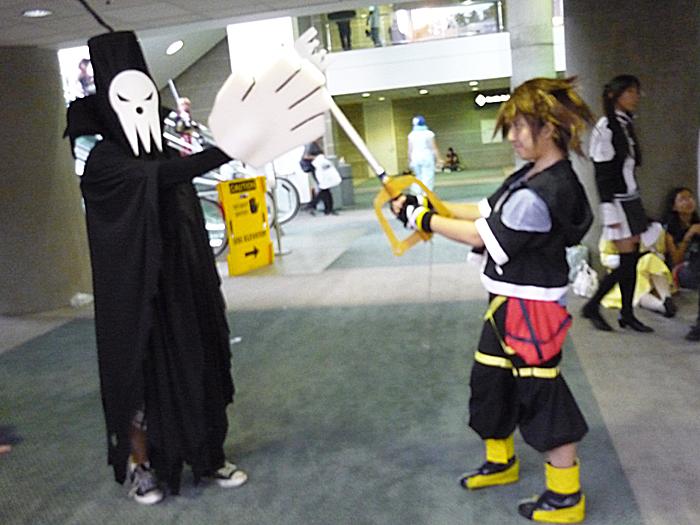 AX09: Sora VS Shinigami by Taymeho