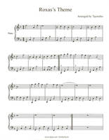 Roxas Theme Piano Sheet Music by Taymeho