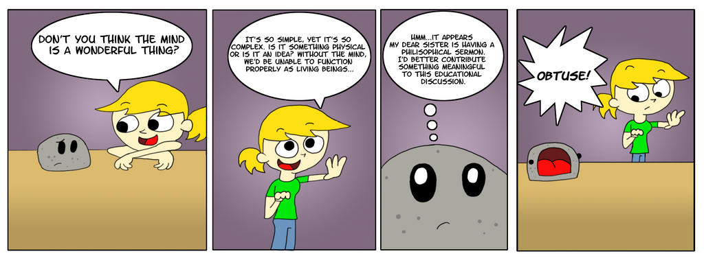 The Dumb Rock: Intellectual Property by Deaniac